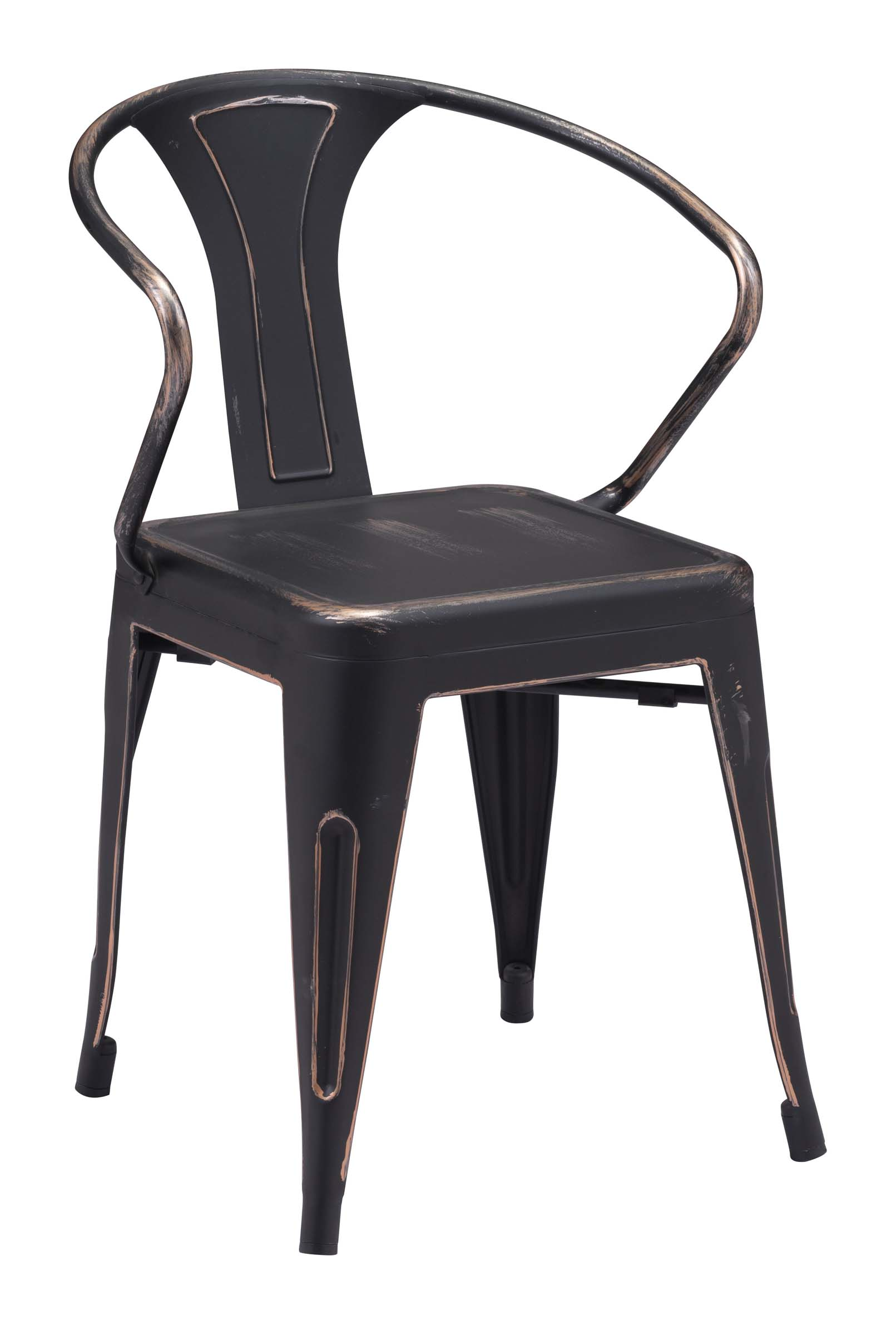 dining chair antique black gold
