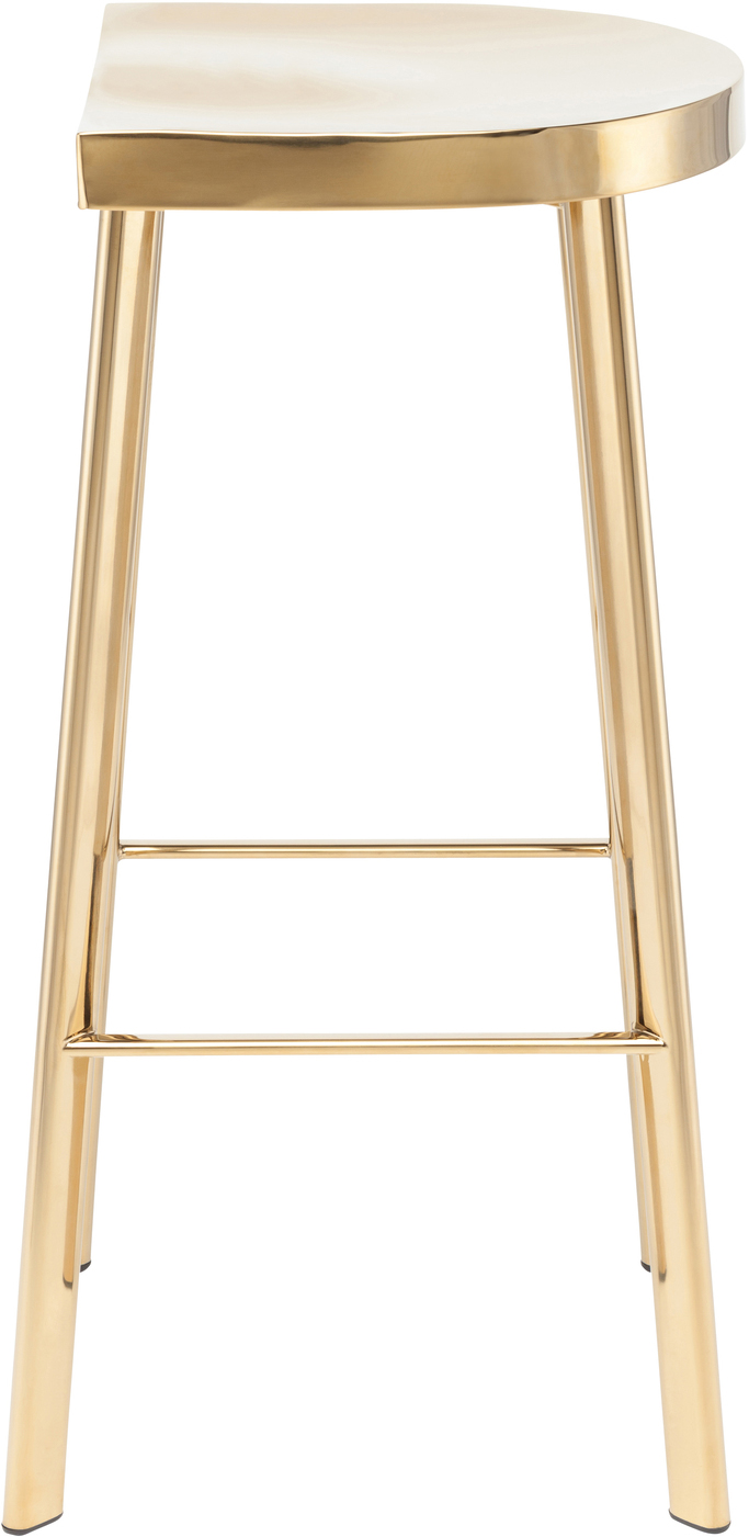 the icon bar chair in gold