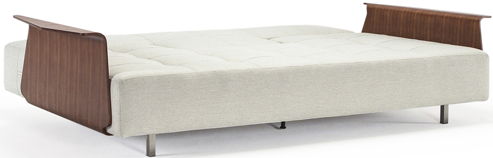 the innovation longhorn sofa in mixed dance grey