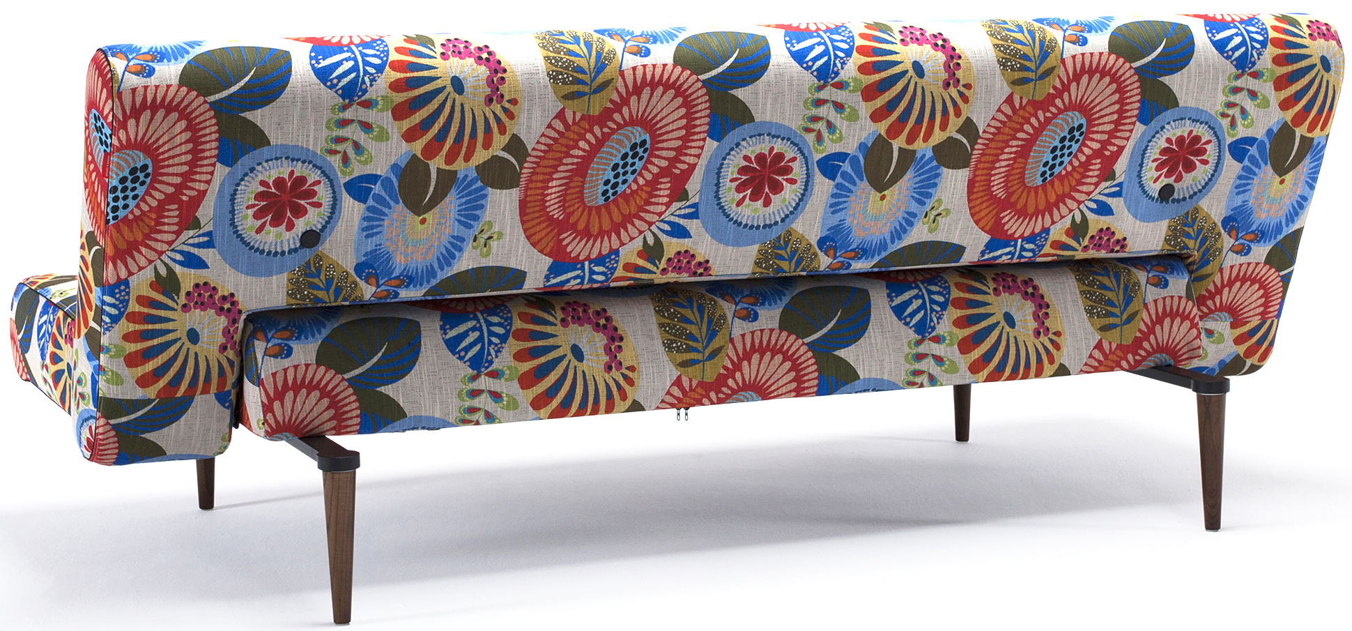 innovation living unfurl sofa flower pattern