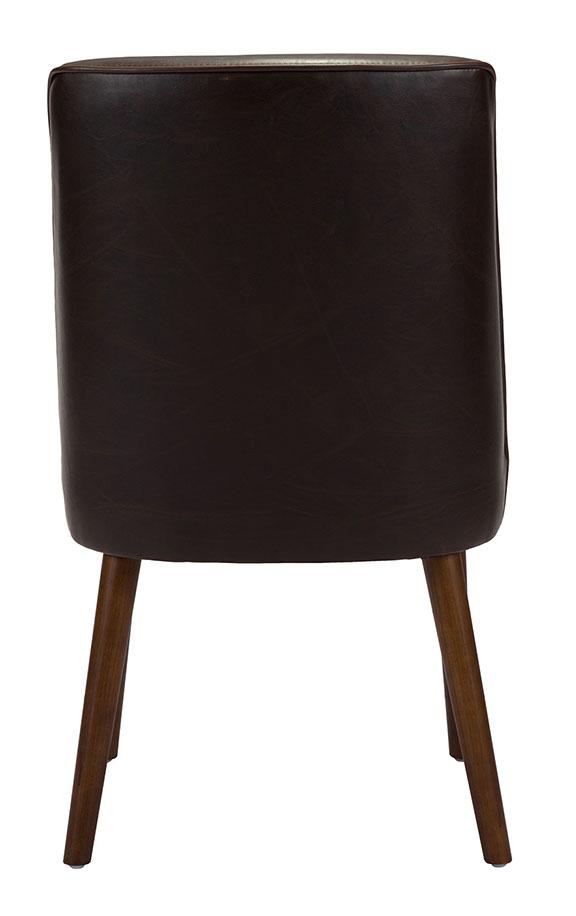 kennedy dining chair dark brown