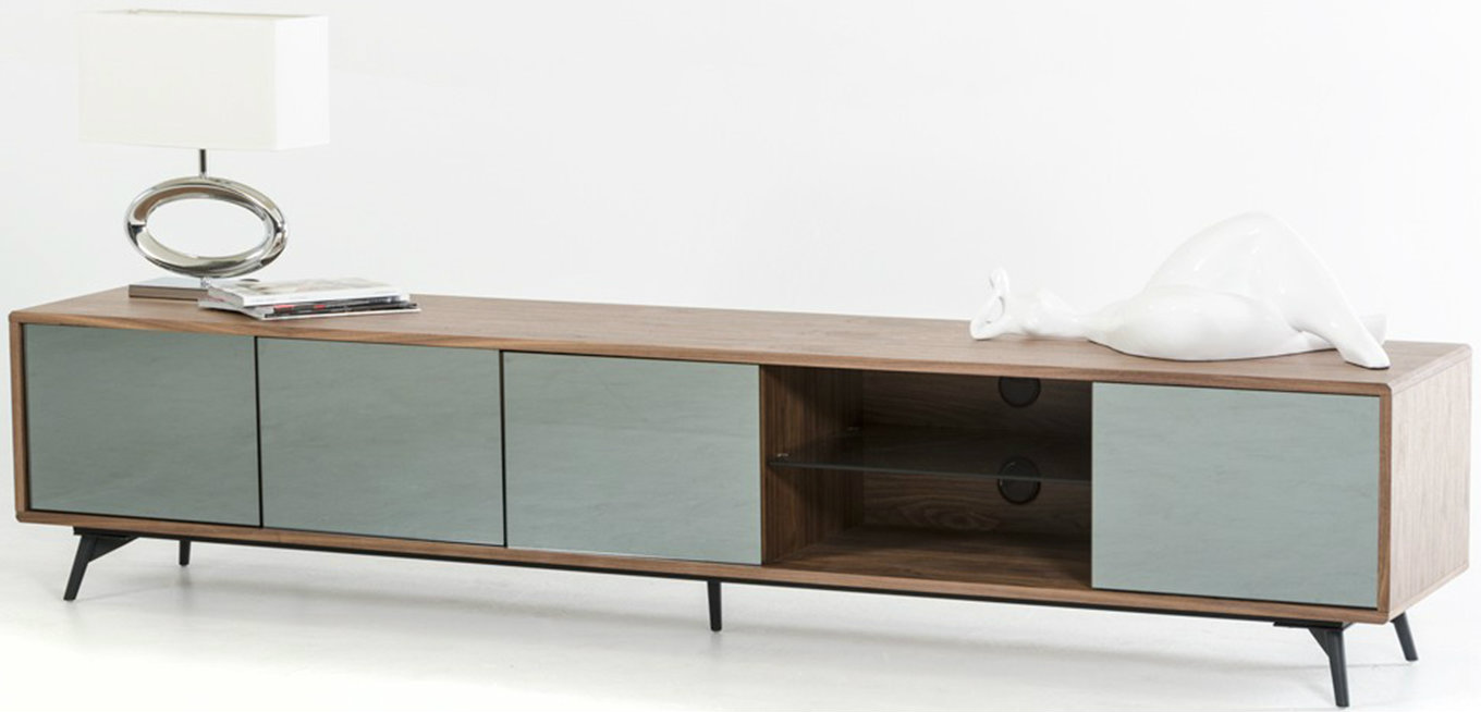 The Aiden Mid Century TV Stand available at Advancedinteriordesigns.com