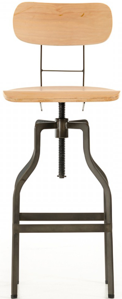 If you're in the market for a modern bar stool wood, check out the Clarence Wooden Bar Stool.