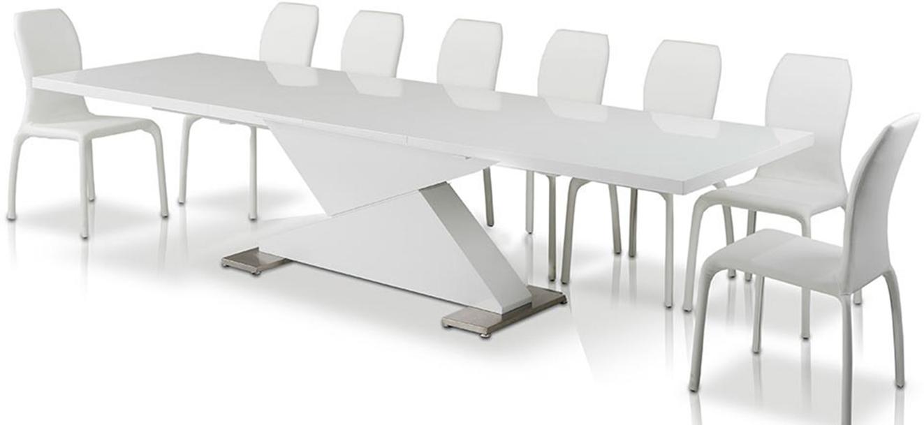 Groovy Domenico Modern Extendable Dining Table Short Links Chair Design For Home Short Linksinfo