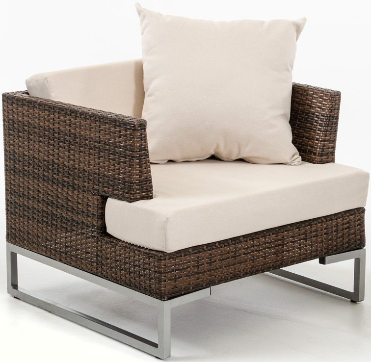 discount nemto brown outdoor rattan chair