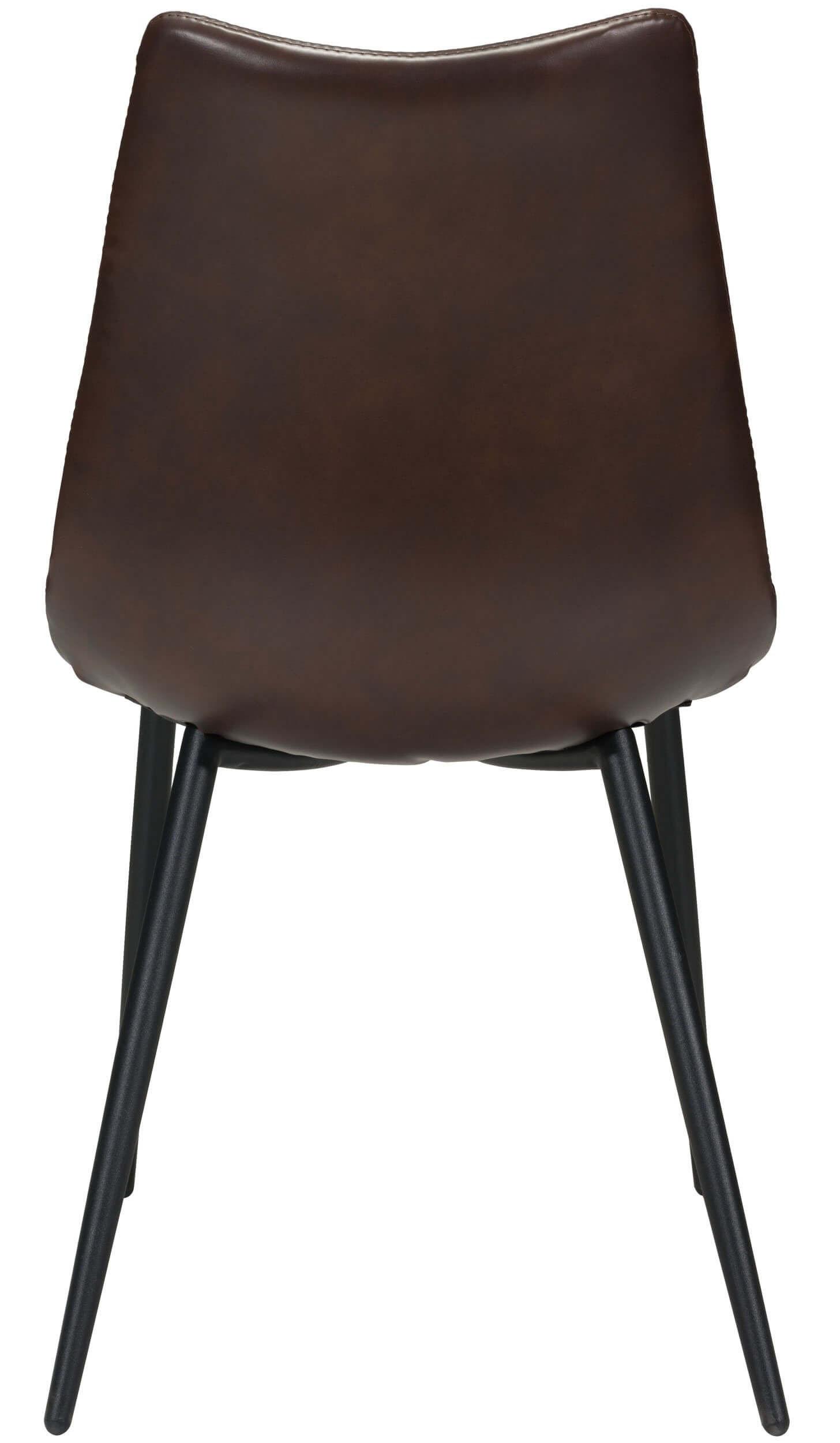 zuo modern norwich dining chair brown