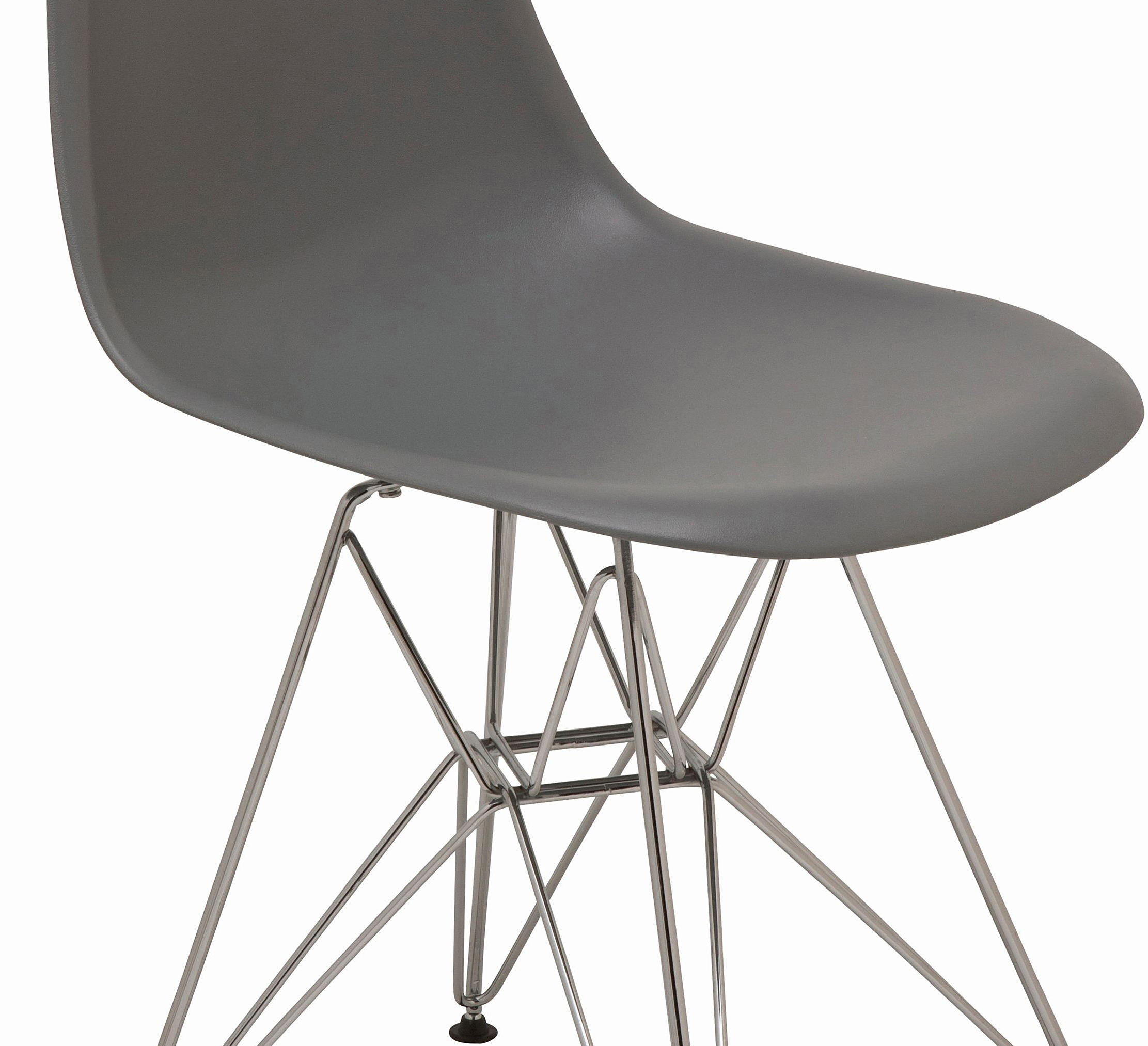 the nuevo max dining chair in grey
