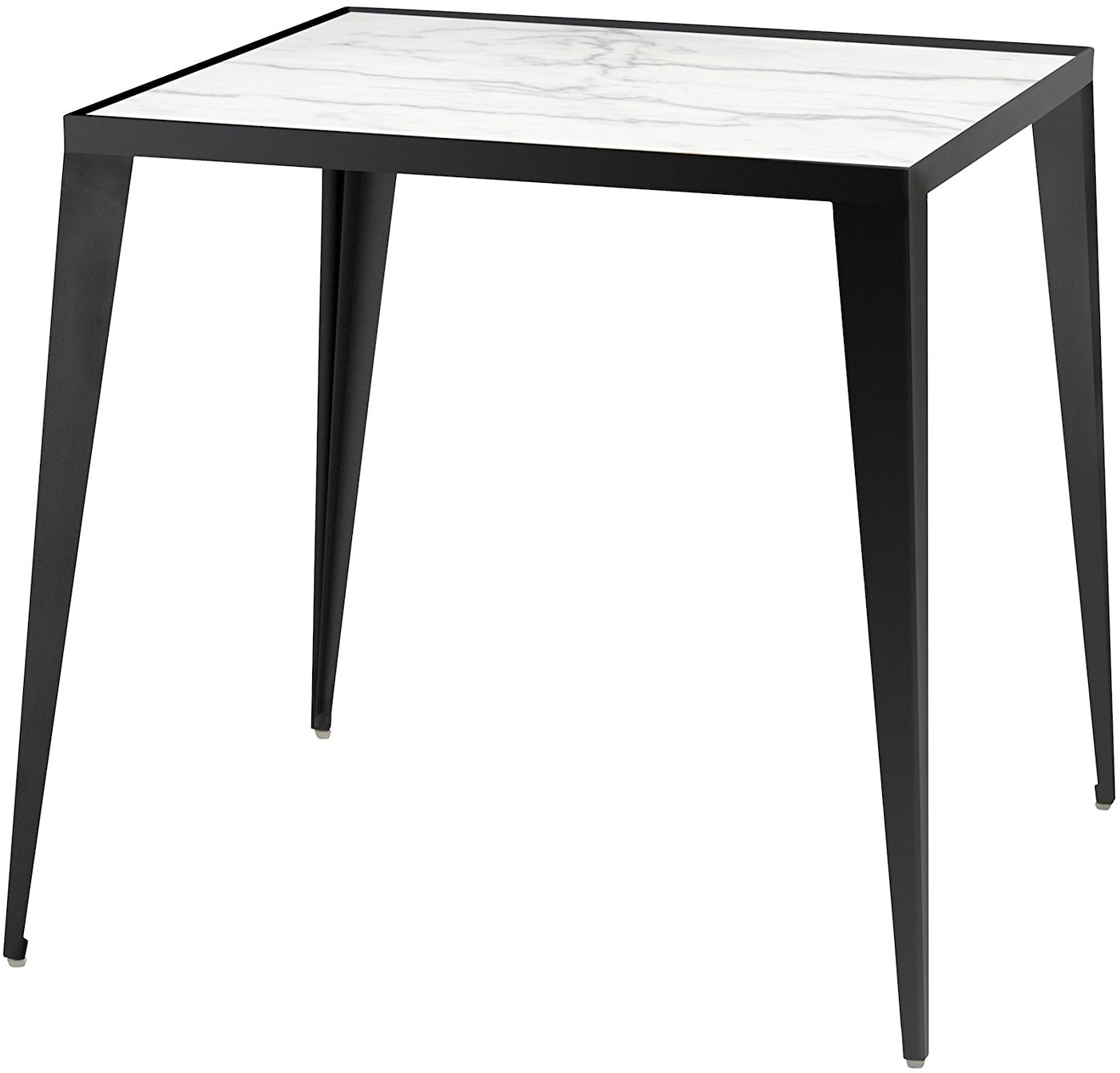 mink side table black