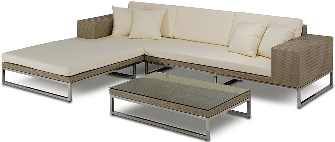 This is a outdoor modern sectional sofa available for sale at AdvancedInteriorDesigns.com