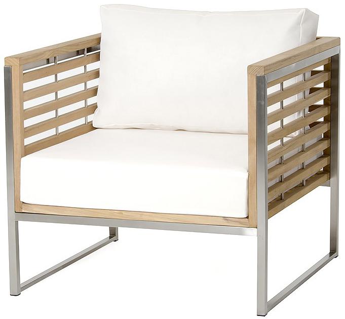 palizzi teak outdoor chair