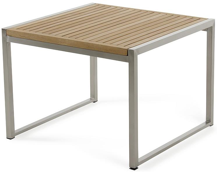 palizzi teak outdoor end table
