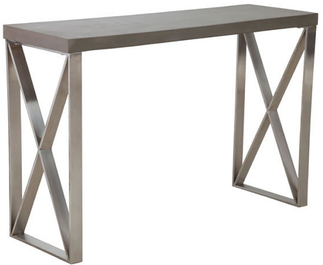 industrial style console table