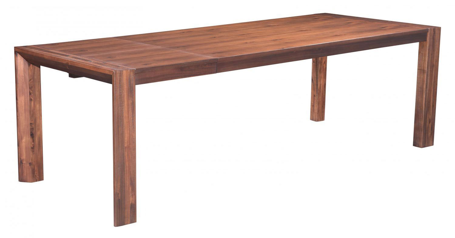 perth extension dining table chestnut