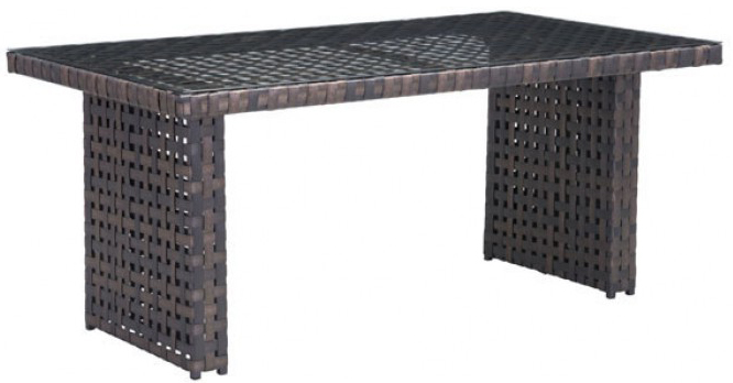 zuo mod pinery dining table