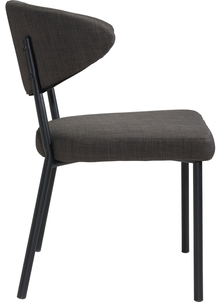 zuo modern pontus dining chair black