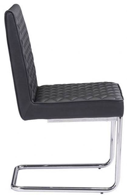 zuo quilt armless dining chair