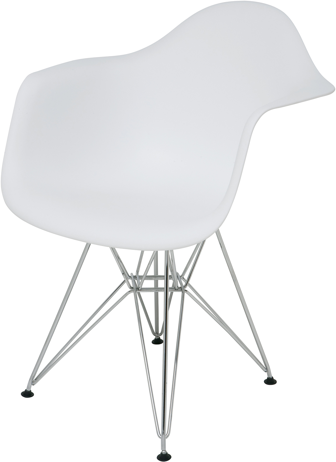 the ray dining chair in white