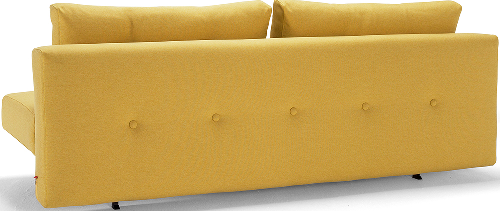 the recast plus sofa soft mustard flower