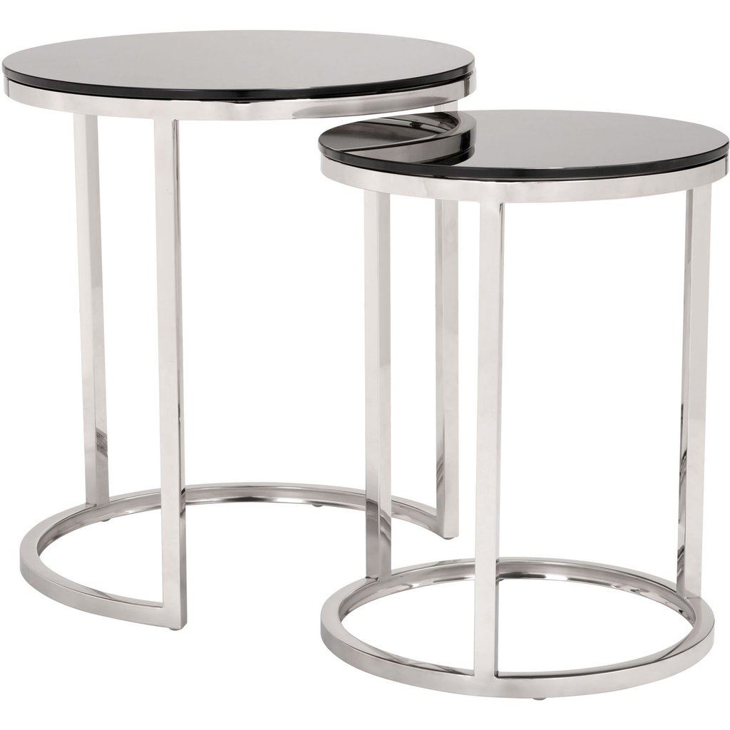 zuo modern rem coffee table sets black stainless