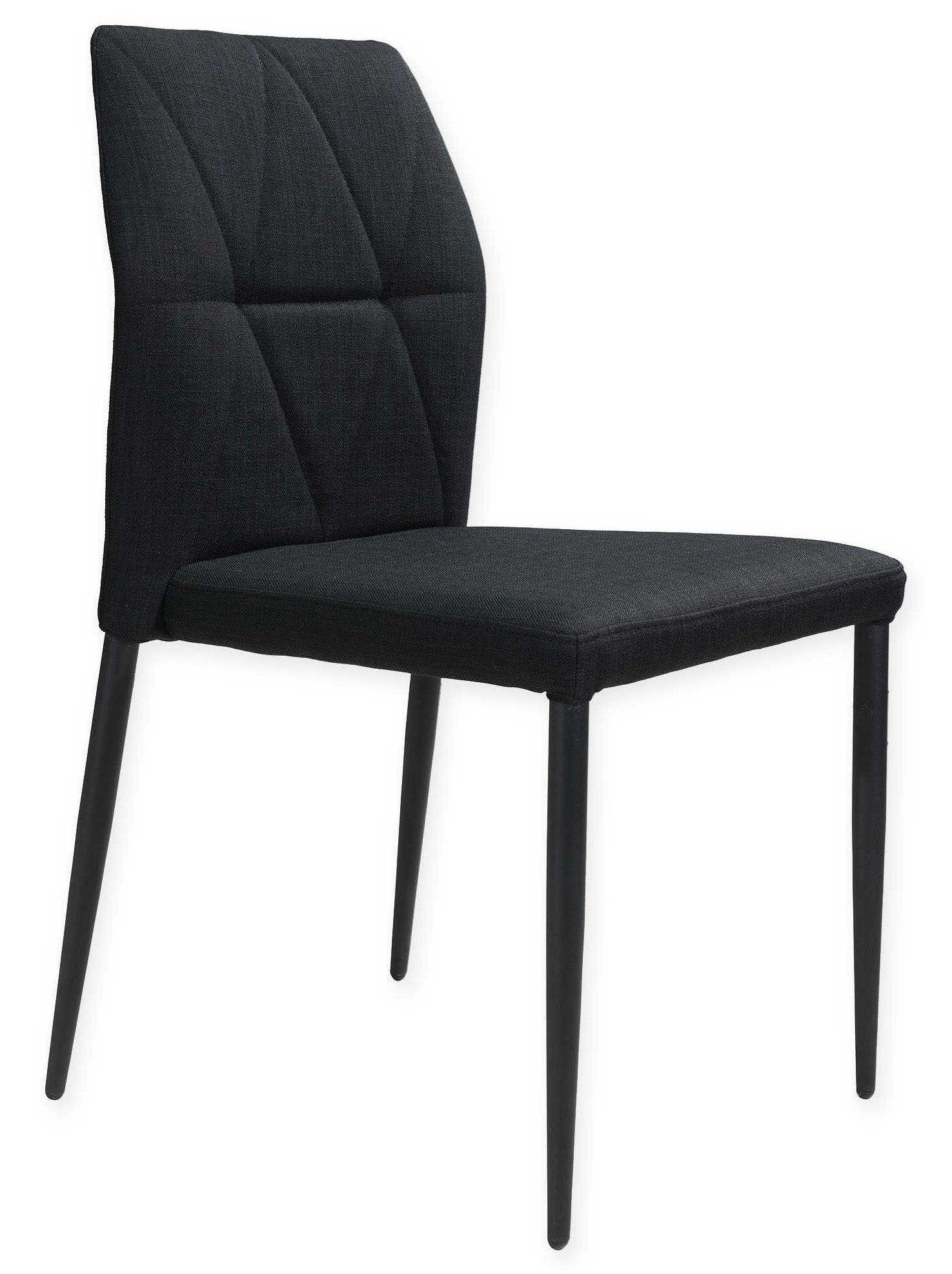 revolution dining chair black