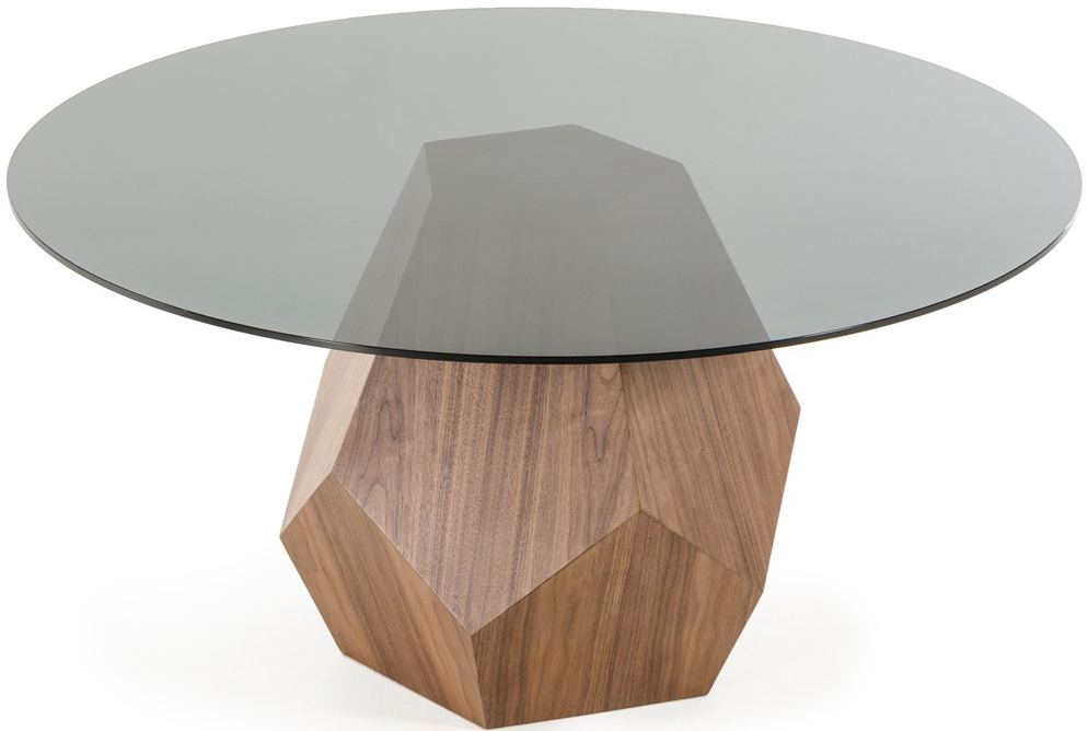 Find a dining table in walnut for your dining area at Advanced Interior Designs