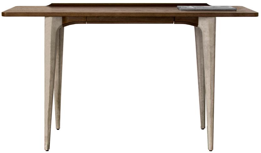 nuevo living salk console table seared oak
