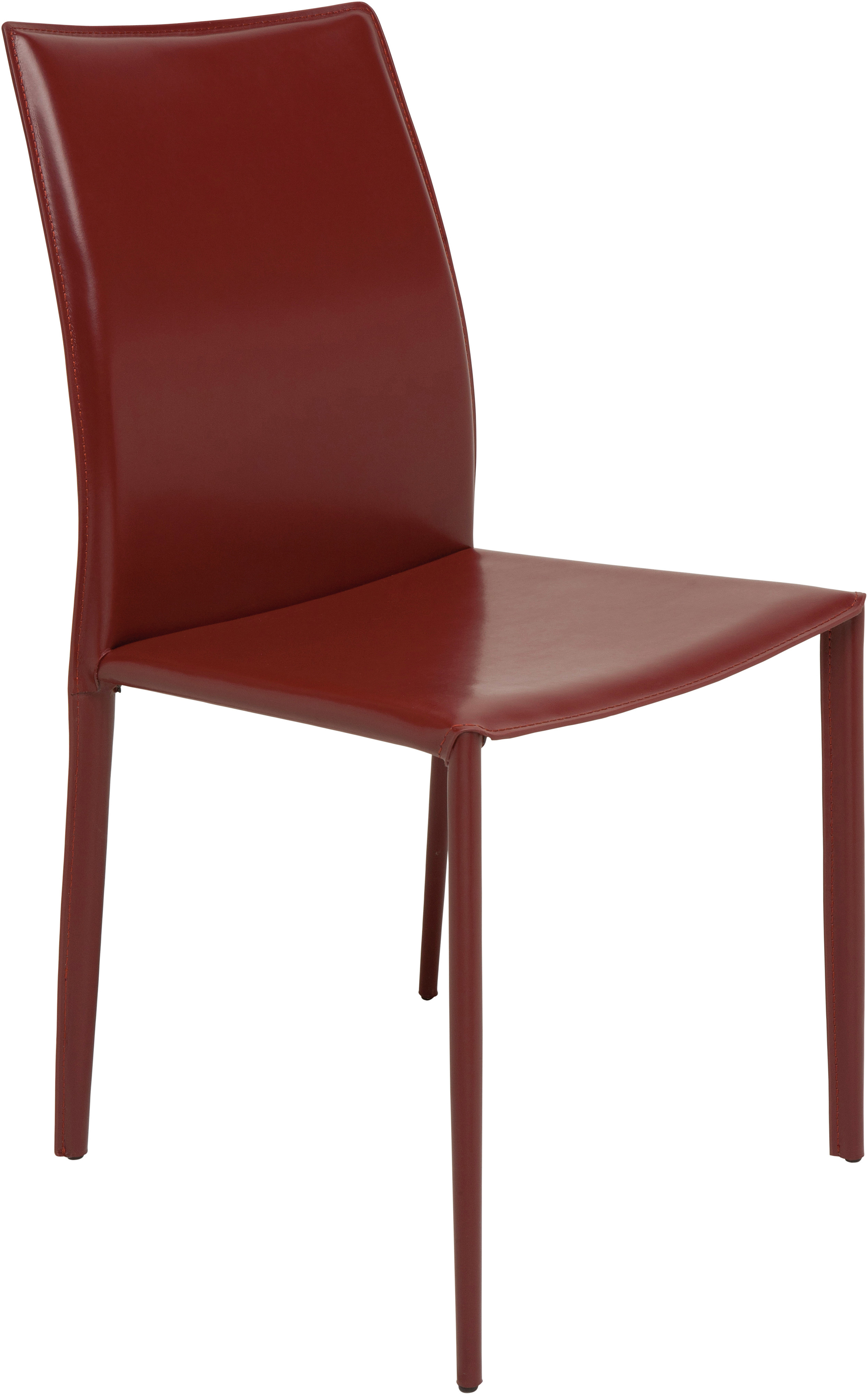 the nuevo sienna dining chair in bordeaux
