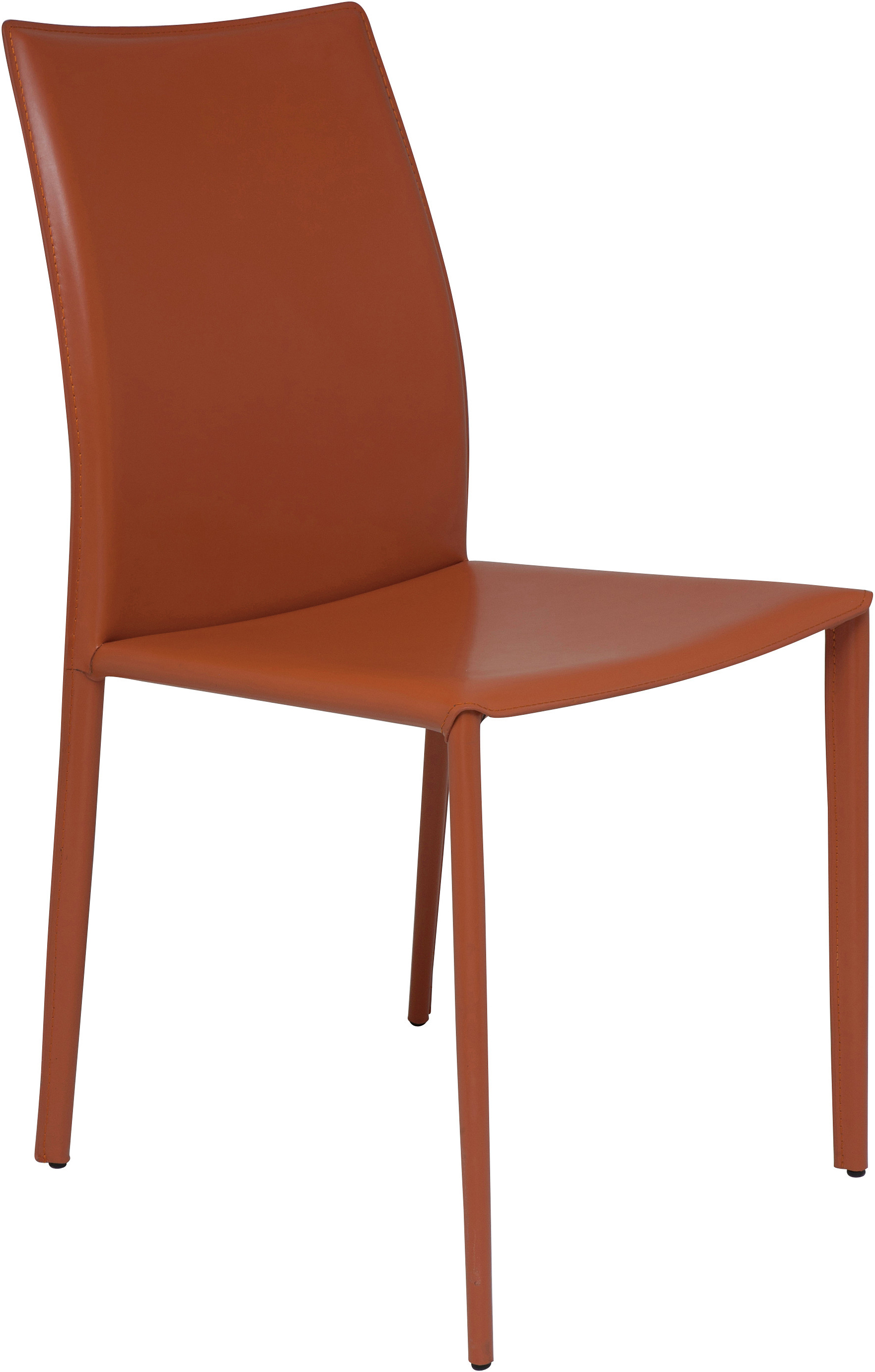 the nuevo sienna dining chair in ochre