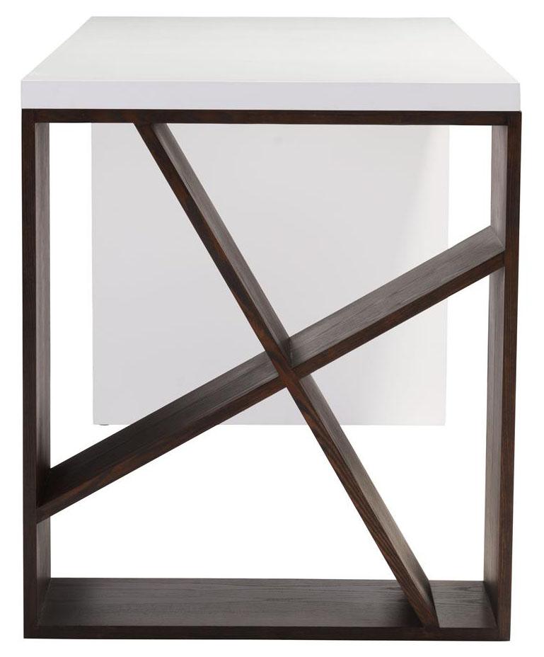 zuo modern slake desk espresso