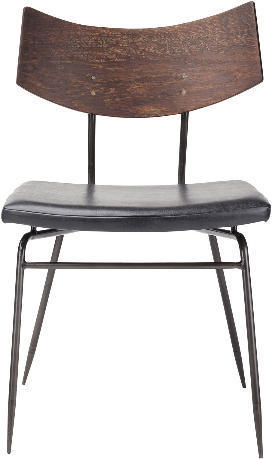 side view of the soli dining chair