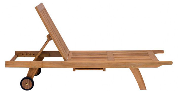 the starboard chaise when its propped up