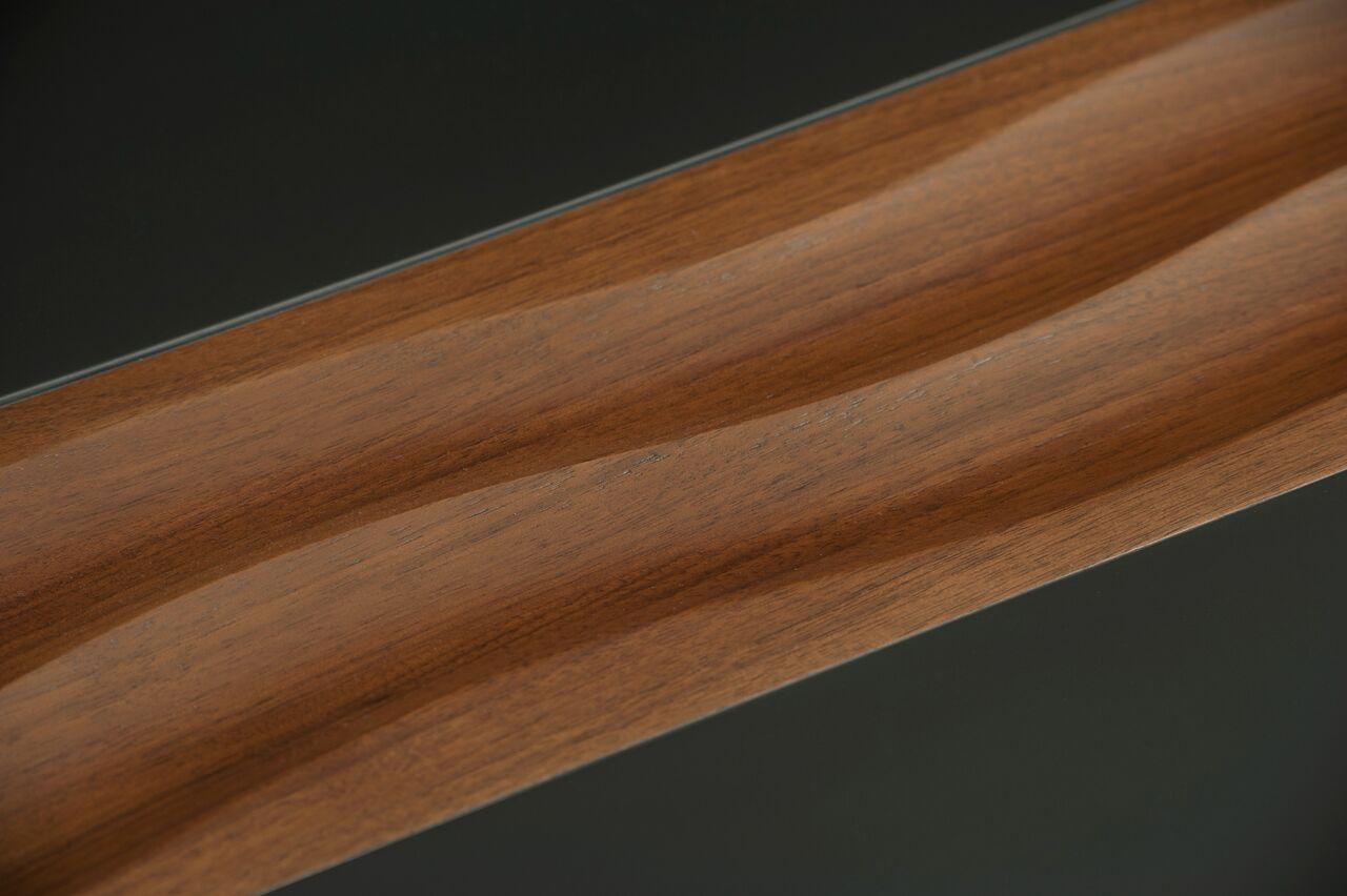 swell side table walnut