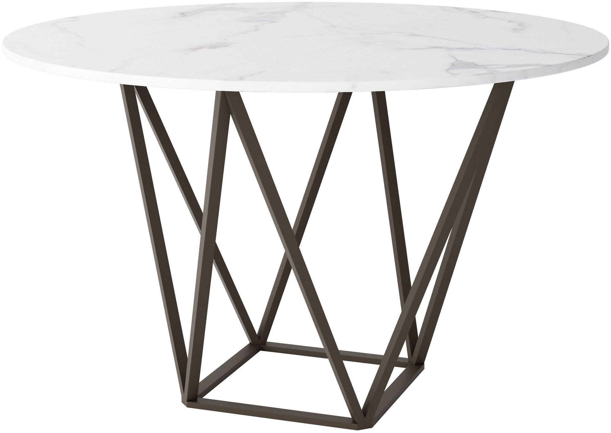tintern dining table stone antique brass