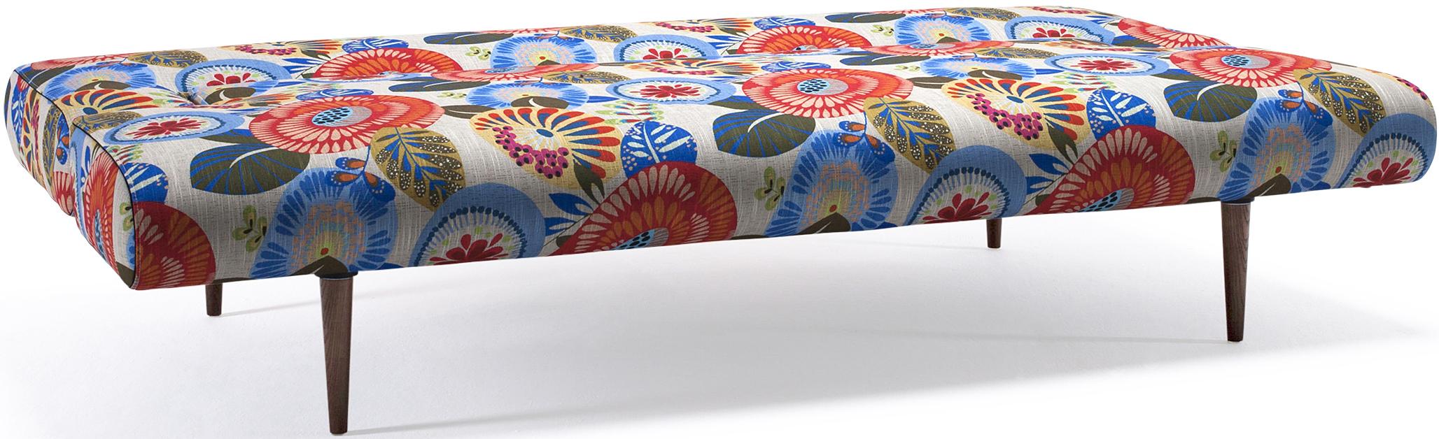 innovation unfurl sofa soft wild tropical flower