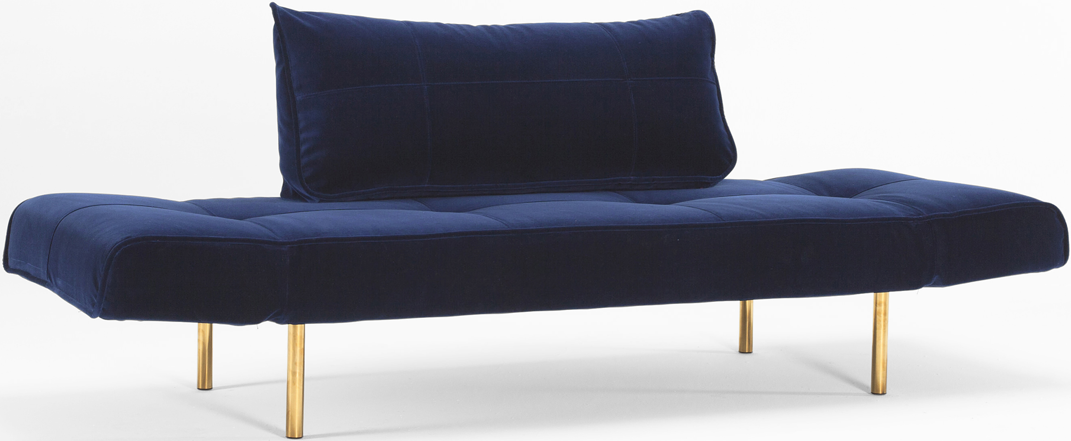 innovation velvet blue daybed