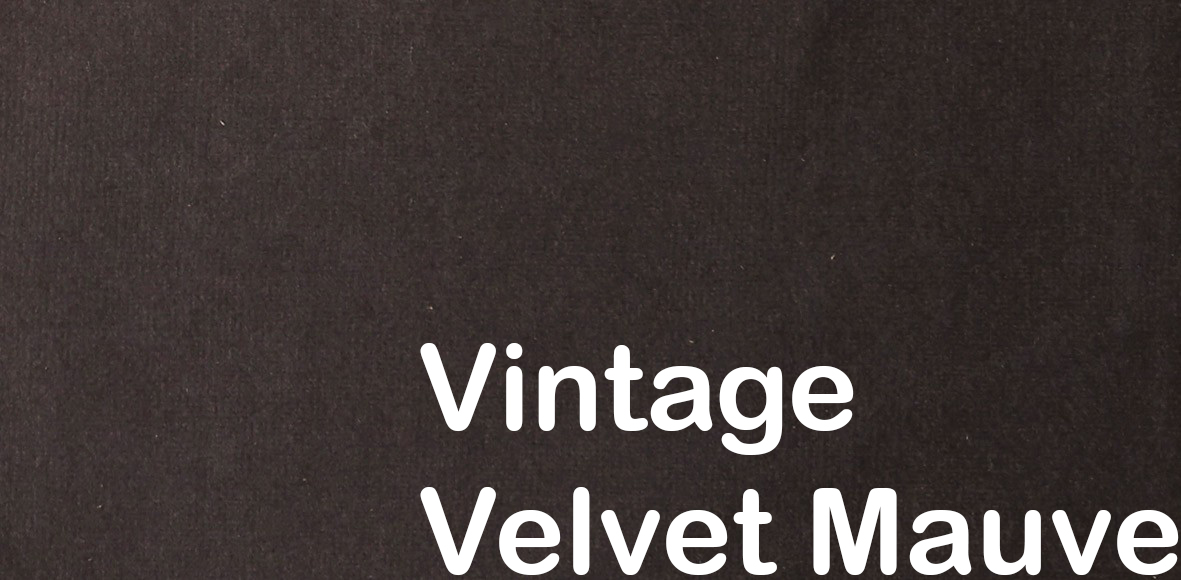 innovation vintage velvet mauve
