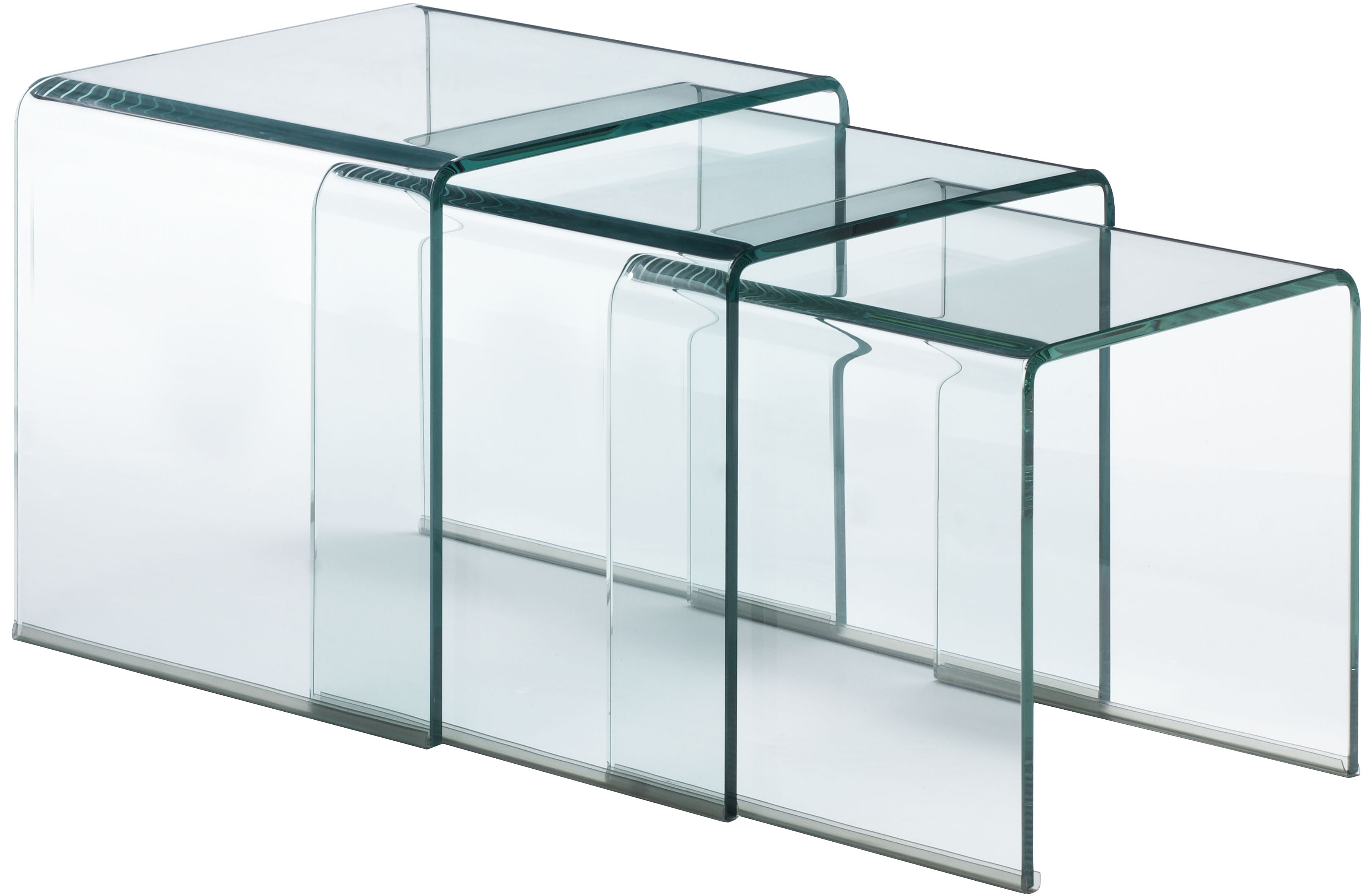 Explorer Nesting Table Clear