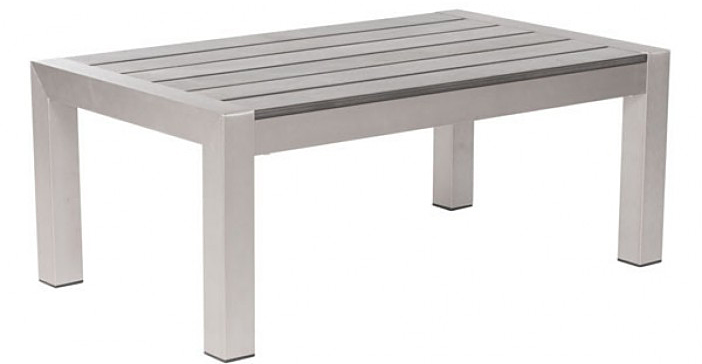 weather resistant outdoor coffee table