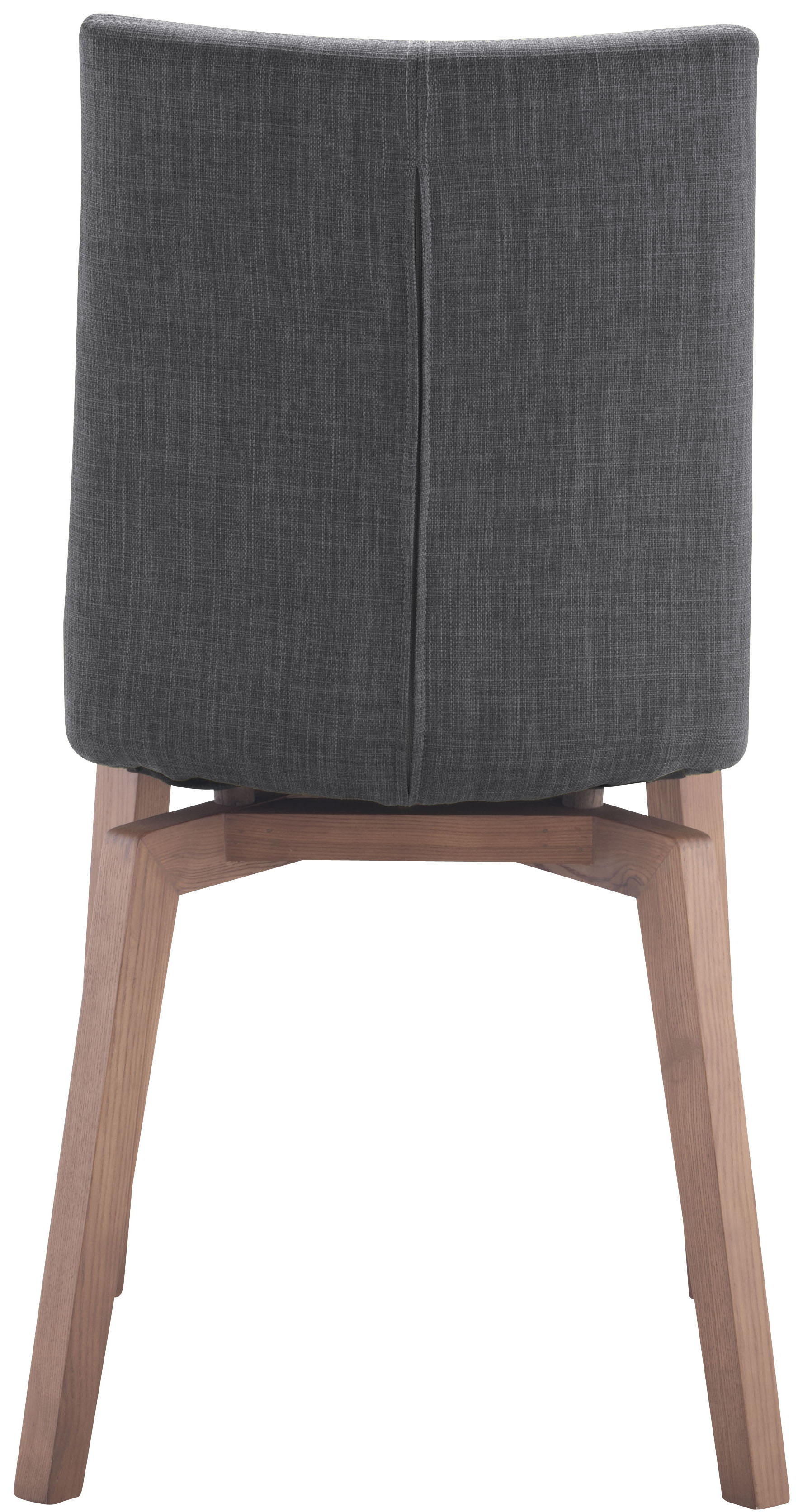 zuo orebro dining chair graphite
