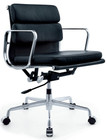 Aluminum Soft Pad Management Chair-Low Back