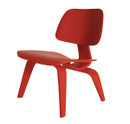 Molded Plywood Lounge Chair-Red