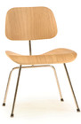 Molded Plywood Dining Chair W/Metal Legs - Natural