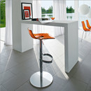 Ice Adjustable Bar Stool - ORANGE