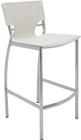 Marcello Leather Barstool White