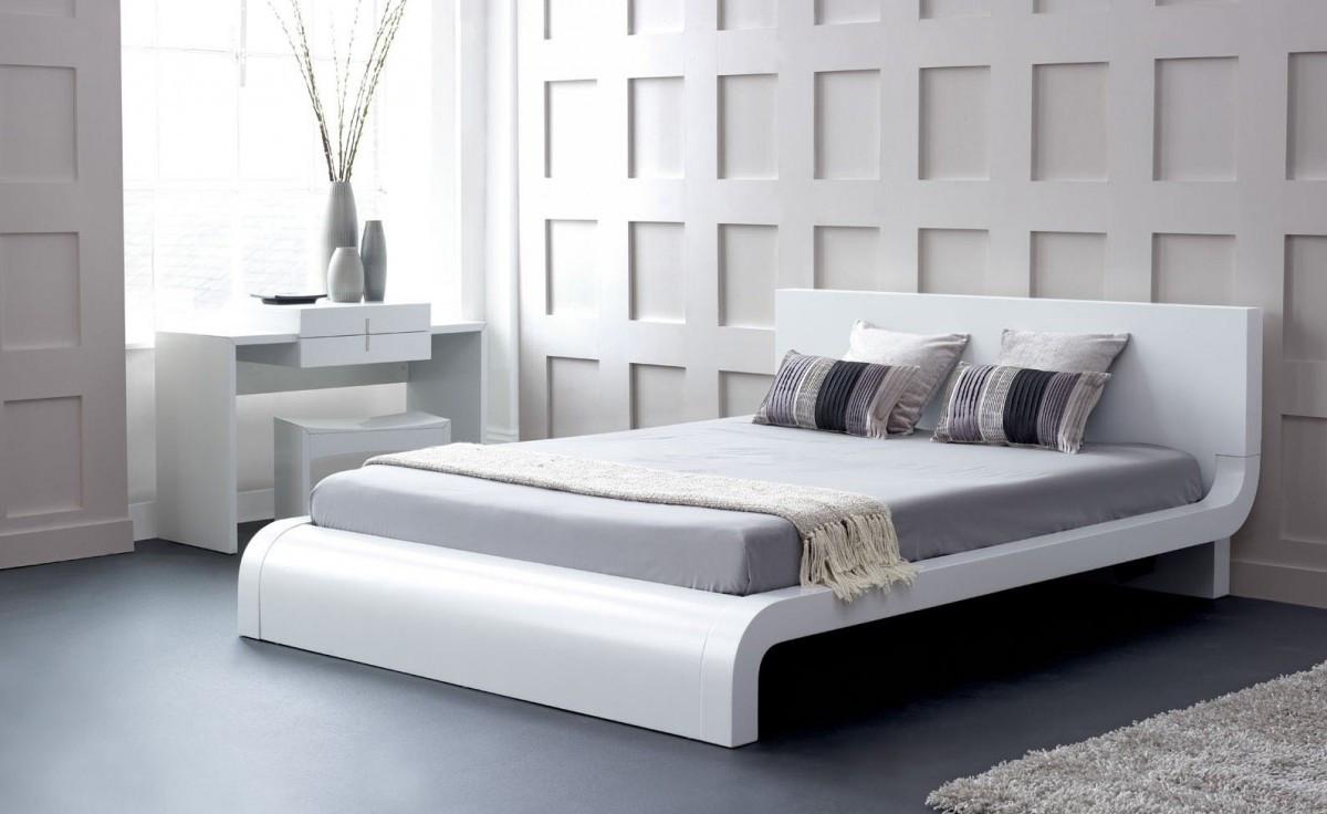 Picture of: Zen Japanese Style Platform Bed Queen