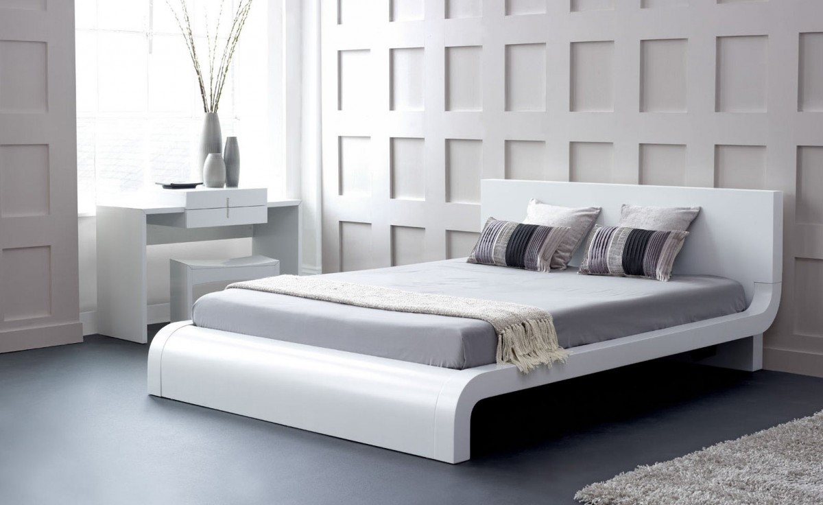 Picture of: Zen Japanese Style Platform Bed Queen