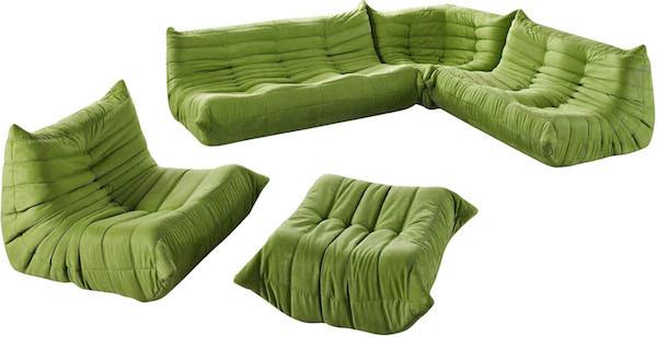 Fabulous Downlow Corner Sectional 5Pc Set Inzonedesignstudio Interior Chair Design Inzonedesignstudiocom