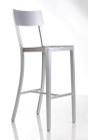 Anzio Aluminum Barstool By Alphaville