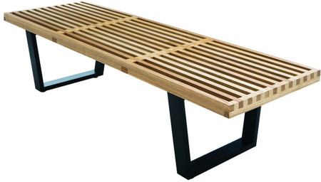 Five Feet Hardwood Platform Bench