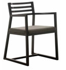 Martine Dining Armchair - Dark Grey